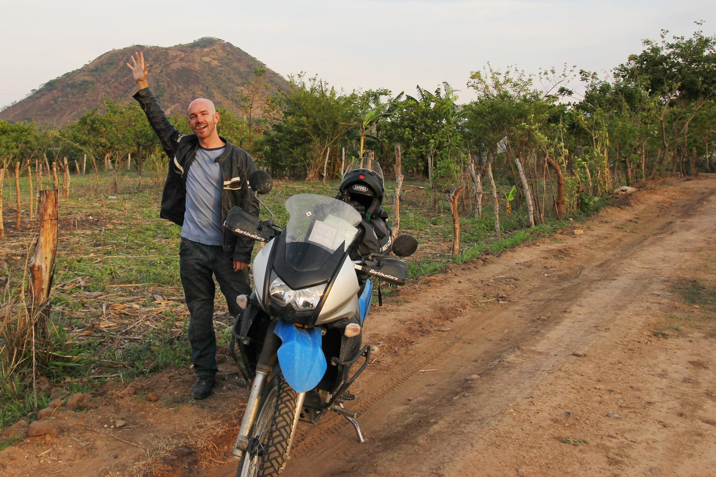 5,000 miles - The ride into Santa Ana, El Salvador